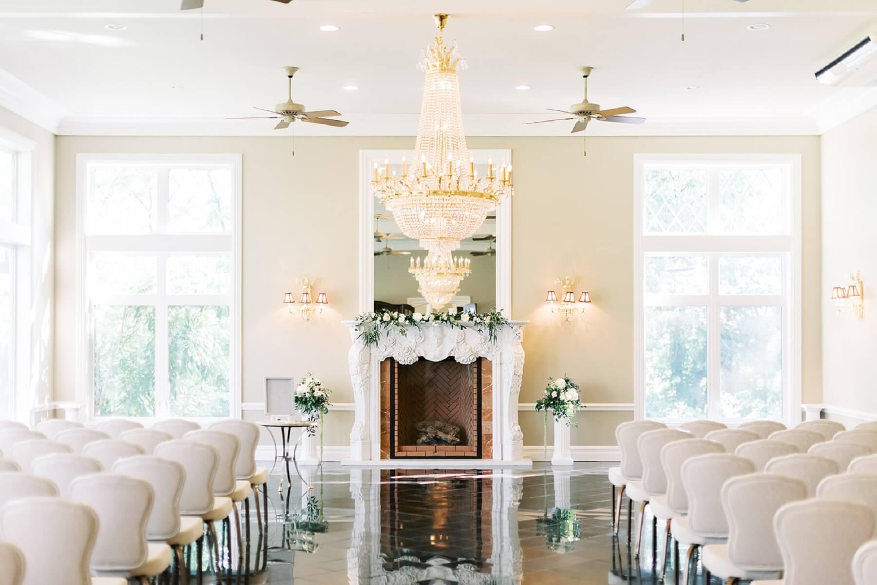 Indoor Wedding at Cameron Estate Inn