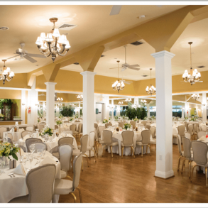 wedding reception at Cameron Estate Inn